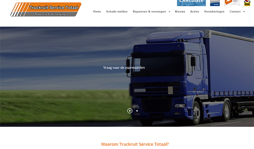 Truckruit Sevice Totaal screenshot