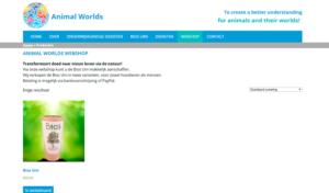Animal Worlds webshop