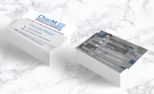 Visitekaartjes CharM Webmarketing