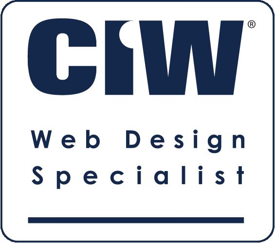 CIW Web Design Specialist gecertificeerd!