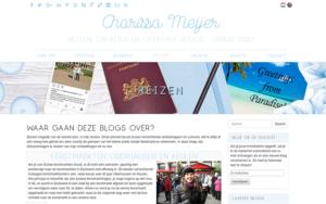 Charissa Meijer reizen pagina