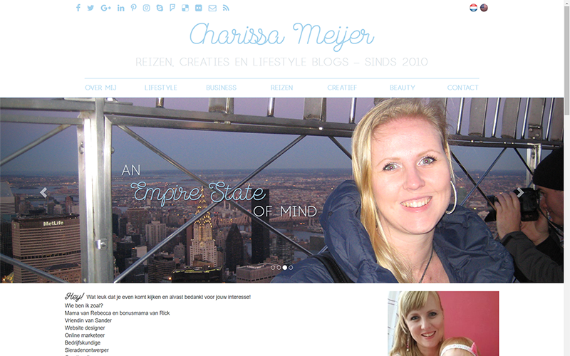 Charissa Meijer website
