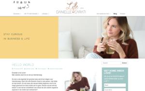 Life with Danielle Carati blog pagina