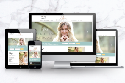 Life with Danielle Carati responsive website