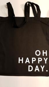 OH HAPPY DAY tas zwart voor