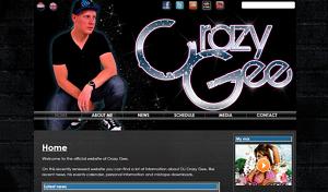 screenshot crazygee.com