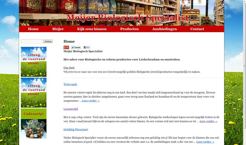 screenshot meijer-natuurvoeding.nl