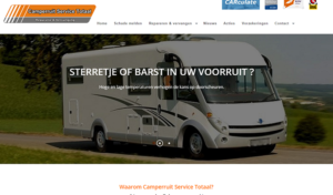 screenshot camperruitservicetotaal.nl
